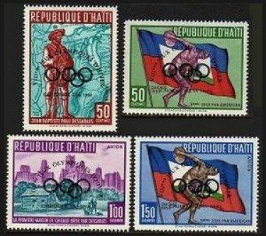 Haiti 451,C148-C150,MNH.Michel 595-598. Olympics Squaw Valley-1960.