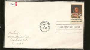 USA 1364 American Indian Issue 1968 First Day Cover