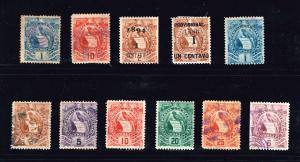 GUATEMALA STAMP COLLECTION LOT #T2