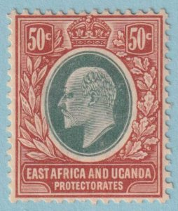 EAST AFRICA AND UGANDA PROTECTORATE 38  MINT HINGED OG - NO FAULTS VERY FINE!