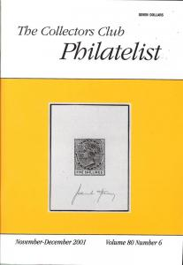 The Collectors Club Philatelist, Vol 80, No. 6, November-...