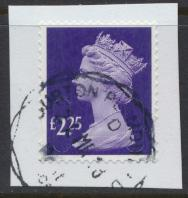 Great Britain - £2.25 Security Machin Used 2018 - No Source Code - Date Code 18