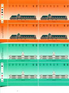 Canada #1182,1183  Mint VF Plate Blocks 4