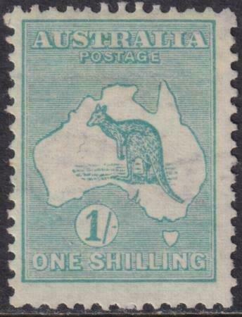 Australia 1913 SC 10 Mint