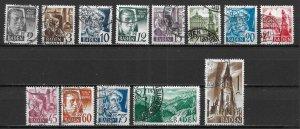 Germany 5N1-13, Various set Used (z3)