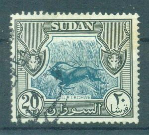 Sudan sc# 113 used cat value $3.50
