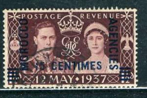 G. B. Morocco French 1937: Sc. # 439 O/Used Cpl. Set