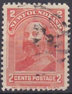 Newfoundland 82 used (1898)