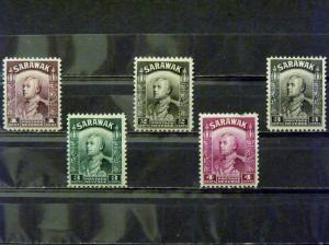 2771   Sarawak   MH, VF   # 109, 111, 112, 113, 114         C.V. $ 17.90