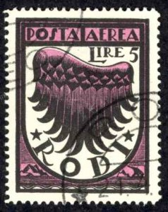 Italy Rhodes Sc# C4a Used 1937-1938 50c Air Post