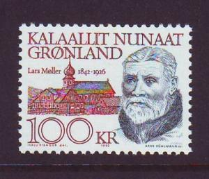 Greenland Sc 242-9 1991 Famous Men stamps  mint NH