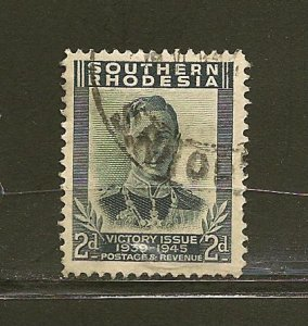 Southern Rhodesia 68 King George VI Used