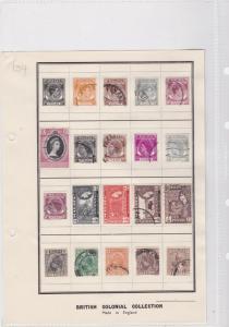 penang maylaya mm+used  stamps ref 7810