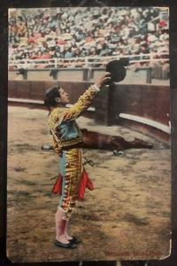 1910s Mexico City Mexico RPPC Postcard Cover To New York Usa Bullfighter