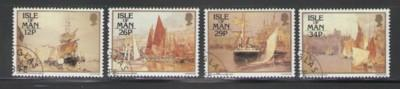 Isle of Man Sc 327-0 1987 Harbour Scenes stamps used