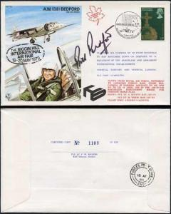 TP6e A.W. (Bill) Bedford OBE.AFC.FRAeS Signed by Himself (B)