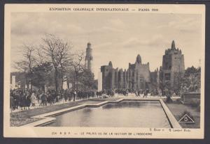 France Sc 258 on 1931 Paris International Colonial Expostion Real Photo PPC