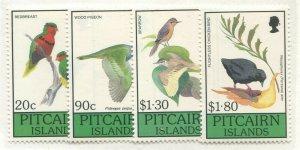 PITCAIRN ISLANDS #343-346 MINT SET