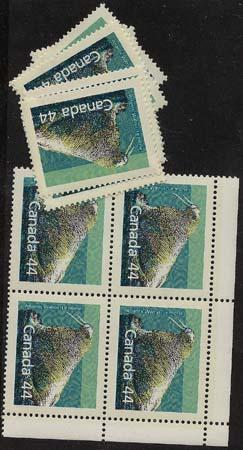 Canada USC #1171 Mint - 1989 44c Atlantic Walrus (12) Inc. Bk. VF-NH
