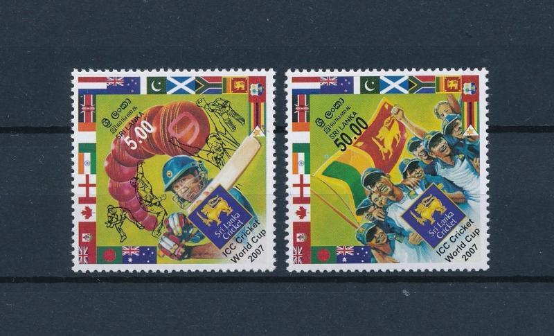[57948] Sri Lanka 2007 Cricket ICC World Cup MNH