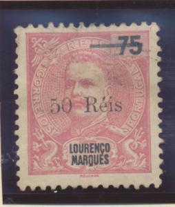 Lourenco Marques Stamp Scott #57, Used - Free U.S. Shipping, Free Worldwide S...