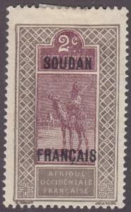 French Sudan 22 Camel and Rider 1921