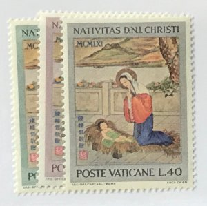 Vatican City #323-325 MNH CV$1.15