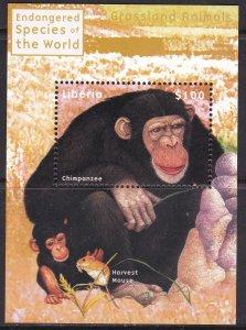 Liberia, Fauna, Animals / MNH / 2000