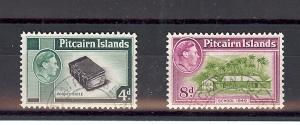 Pitcairn Islands, 5A,6A, Various Scenes Singles, **Used**