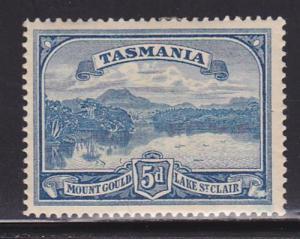 Tasmania Scott # 92 VF previously hinged nice color cv $ 43 ! see pic !