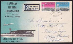 MALAYSIA 1965 KL Airport commem FDC, .......................................9075