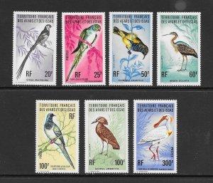 BIRDS -  AFARS and ISSAS #413-19   MNH