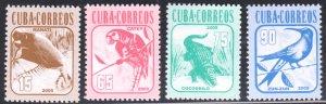 2005 Cuba Stamps Sc 4479-4482 Wildlife Complete Set MNH