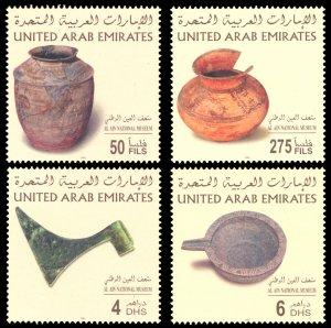 United Arab Emirates 2003 Scott #727-730 Mint Never Hinged