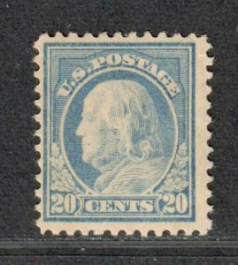US Sc#515 M/NH/F-VF, Tiny Natural Gum Skip, Cv. $85