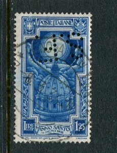 Italy #313 Used