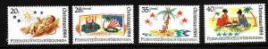 Micronesia-Sc#22,C7-9-unusedNH-Christmas 1984-