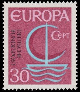 GERMANY STAMP 1968. SCOTT # 984.  MINT