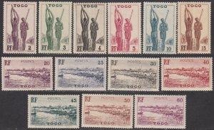 Togo 270-295 MNH CV $26.00