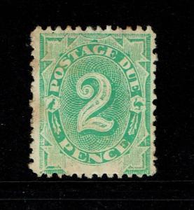 Australia SG# D3, Mint Hinged, Hinge Remnants, perf 12, toned - S5101