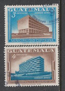 Guatemala #C279-C280 Used