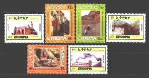 Ethiopia. 2011. 1886-91. Ancient churches and mausoleums. MNH.