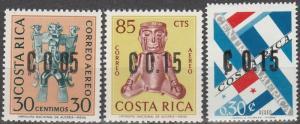 Costa Rica #C395-7 MNH (S5918L)