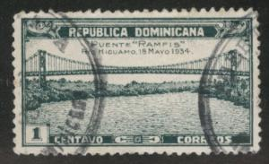 Dominican Republic Scott 295 used stamp