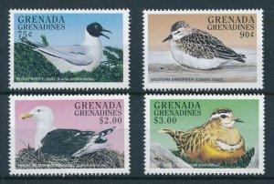 [108794] Grenada Grenadines 1998 Birds vögel Sandpiper Gulls Dotterell  MNH