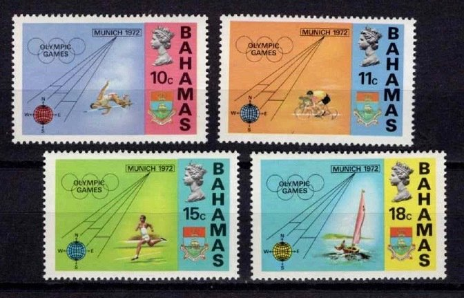 1972 Bahamas Olympic Games (Munich) Set