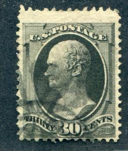 UNITED STATES (US) 154 USED F-VF LIGHT CANCEL, APS CERT genuine all respects