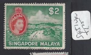 SINGAPORE (PP0502B)  QEII  $2.00  SG 51   VFU
