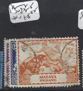 MALAYA PENANG   (PP1905B)  UPU  SG 23-5   VFU