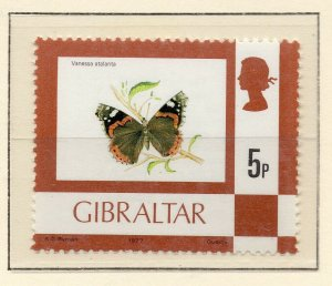 Gibraltar 1977 QEII Early Issue Fine Mint Unmounted 5p. NW-99228